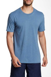 Mr.Swim The Casual Short Sleeved T Shirt Burnout Denim