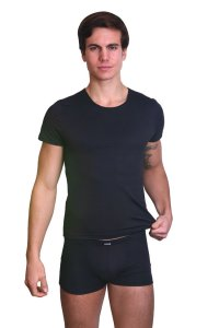 Lookme ROCKET Poly Style Short Sleeved T Shirt Black 38-81