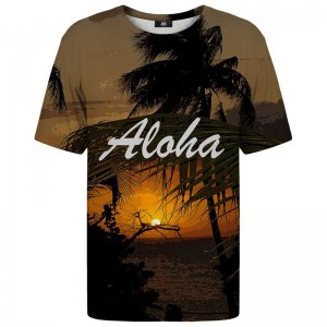 Mr. Gugu & Miss Go Say Aloha Unisex Short Sleeved T Shirt TSH848