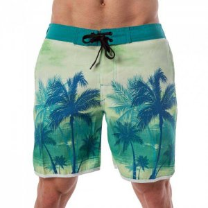 Lord Tropical Boardshorts Beachwear Teal MA008