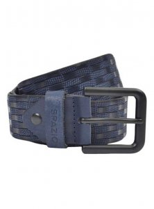 Spazio Checker Belt Navy 3560