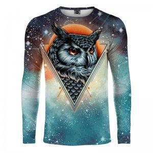 Mr. Gugu & Miss Go Owl Constellation Long Sleeved T Shirt LS...