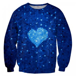 Mr. Gugu & Miss Go Glass Heart Unisex Sweater S-PC730