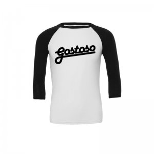 CA-RIO-CA Gostoso Raglan Long Sleeved T Shirt Black/White R3...