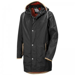 Didriksons Hjalmar Coat Coal Black 500056