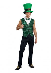Dreamguy Irish U Were Naked Leprechaun Costume 10328