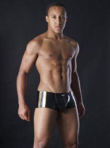 MANstore M257 Apropo Pants Boxer Brief Underwear Gold 2-08262/8171