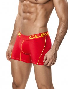 Clever Arizona Boxer Brief Underwear Red 2208