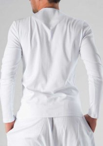 Geronimo Long Sleeved T Shirt White 1277BL6