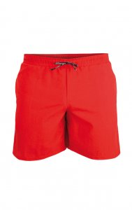 Litex Solid Shorts Swimwear Red 52704
