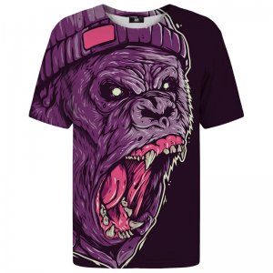 Mr. Gugu & Miss Go Gorilla Unisex Short Sleeved T Shirt TSH1035