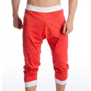Gigo RACING RED Jogger Three Quarter Pants G19109