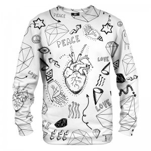 Mr. Gugu & Miss Go Love Icons Unisex Sweater S-PC717