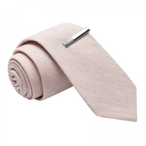 Skinny Tie Madness Day Dream Non Believer Solid Linen Skinny...