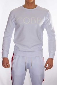 Alexander Cobb Sweeter Long Sleeved T Shirt White SP05-25