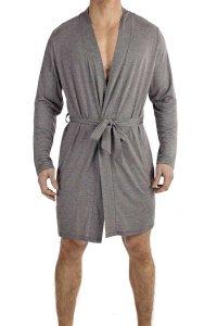 L'Homme Invisible Robe De Chambre Loungewear Grey HW140-LOU-...