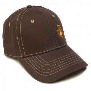 Ajaxx63 Bear Paw Logo Hat Brown CP22