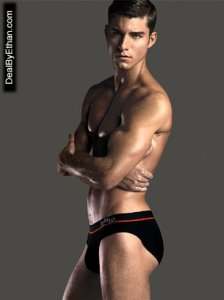 2xist Sliq Brief Underwear Black 1759 USA2