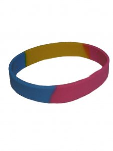 DBE Pansexual Silicone Armband
