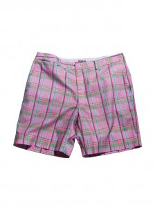 Breese Plaid Shorts Pink PNKPLD100