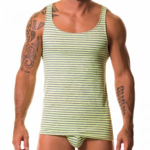 Jor JUPITER Tank Top T Shirt GREEN 0111