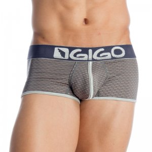 Gigo GRAFIC GREY Short Boxer Underwear G02104