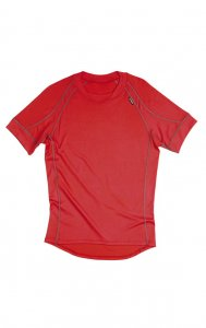 Litex Plain Short Sleeved T Shirt 306 Red 67694