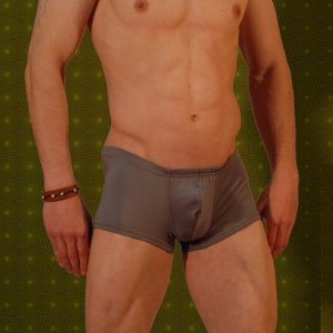 Don Moris Plain Boxer Brief Underwear Grey DM030909