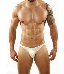 Cover Male Pouch Enhancing Bikini Underwear & Swimwear Beige 201