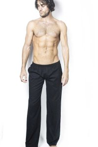 L'Homme Invisible Shri Lounge Pants Black HW124-LOU-001