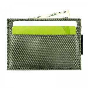 Ulterior Motive Nylon Card Case Army Green/Black