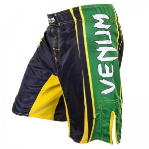 Venum All Sports Brazil Boardshorts Beachwear Black/Green/Ye...