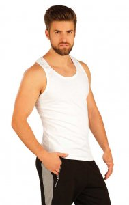 Litex Solid Tank Top T Shirt White 51226