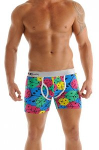 Sly Underwear Dice Boxer Brief Underwear 0030002W