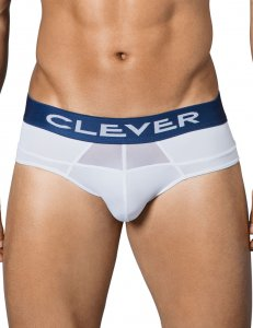 Clever Divo Mesh Brief Underwear White 5335