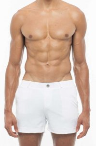 2EROS Bondi Shorts Swimwear White S60