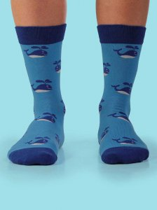 Curious Beaver Free Willy Socks