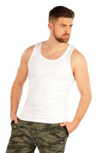 Litex Solid Tank Top T Shirt White 54146