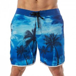 Lord Tropical Boardshorts Beachwear Blue MA008