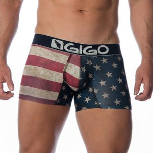 Gigo USA Long Boxer Underwear G04003-USA