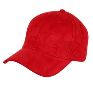 Epoch Faux Suede Hat Red CP2392