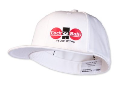 Cock&Balls Ferrera Fitted Hat White 10007