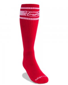Nasty Pig Hook'd Up Socks Red