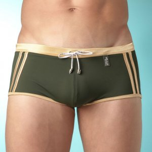 Jor SPORT GOLD/GREEN Boxer Swimwear