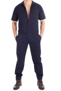 L'Homme Invisible Work & Play Jumpsuit Navy WP1-MAR