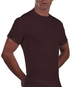 Lord Cotton Short Sleeved T Shirt Brown 180