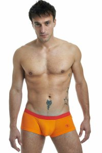L'Homme Invisible Candy Hipster Boxer Brief Underwear Orange MY39H-SEN-S31