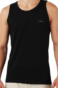 Pierre Cardin [3 Pack] Claudio Tank Top T Shirt Grey & Black & White