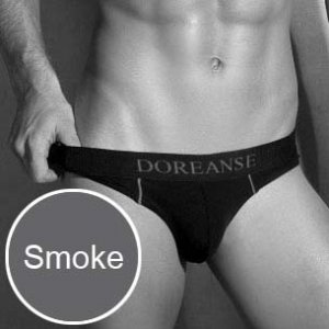 Doreanse Slip Brief Underwear Smoke 1349
