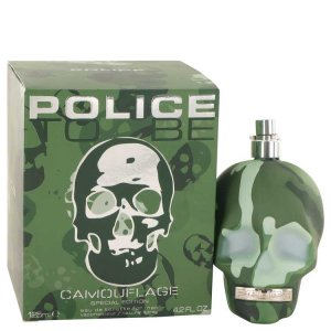Police Colognes To Be Camouflage Eau De Toilette Spray Special Edition 4.2 oz / 124.21 mL Men's Fragrance 528297